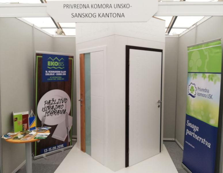 """Privredna komora USK sa članicama na 26. međunarodnom sajmu gospodarstva """"Zagorski gospodarski zbor"""""""