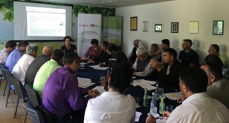 Održana info-sesija u suradnji sa USAID/Sweden Projektom razvoja tržišne poljoprivrede II (FARMA II)