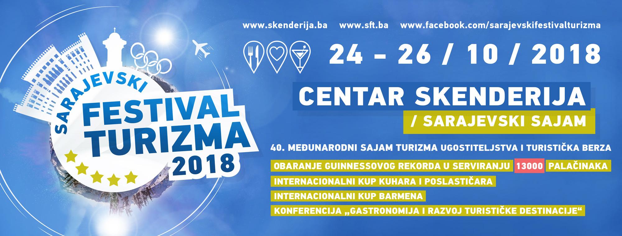 Međunarodni sajam turizma, ugostiteljstva i turistička berza od 24. do 26. oktobra u Sarajevu