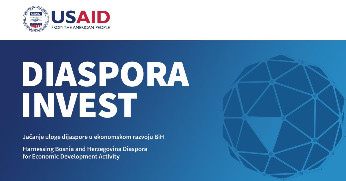 USAID Diaspora Invest raspisao javni poziv za tehničku podršku