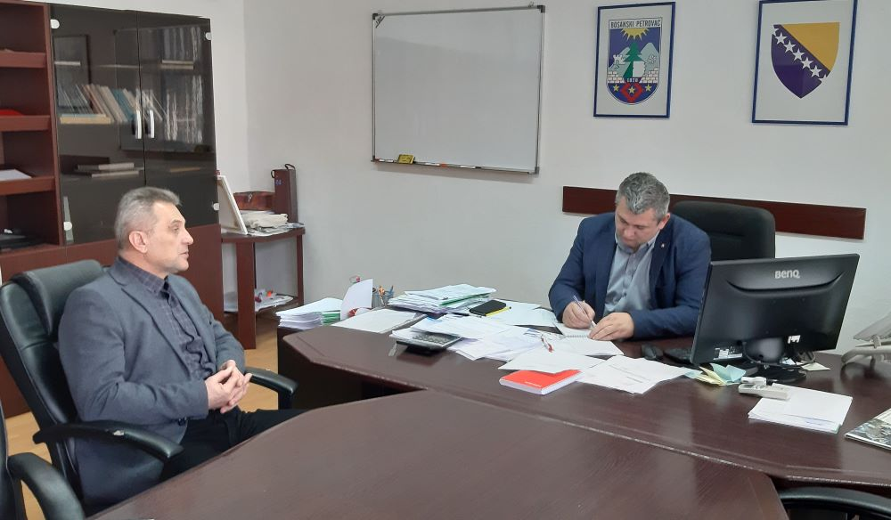 Predsjednik Privredne komore Unsko-sanskog kantona u posjeti privrednim subjektima u Bosanskom Petrovcu