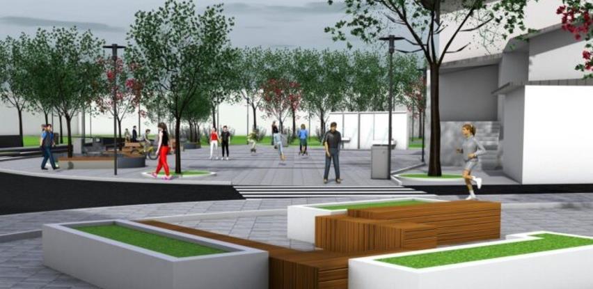 Potpisan ugovor: KOV-GRAD će graditi novi trg u Bužimu