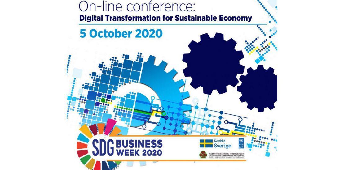 """Poziv za konferenciju """"Digitalna transformacija za održivu ekonomiju"""""""