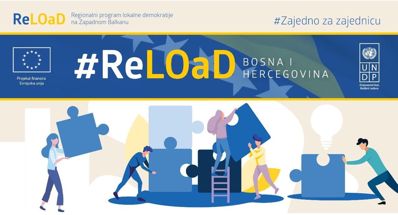 Regionalni program lokalne demokratije na Zapadnom Balkanu (ReLOaD2) objavljuje javni poziv za jedinice lokalne samouprave za učešće u projektu